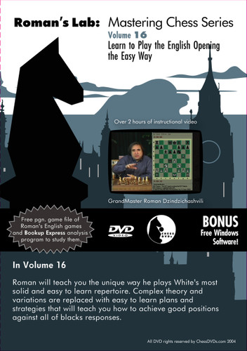 Roman's Lab 16: Play the English Opening the Easy Way - Chess Opening Video Download