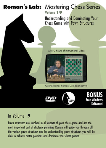 Roman's Chess Labs:  19, Understanding Your Chess Game with Pawn Structures DVD