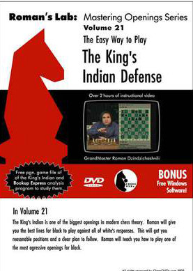Roman's Lab 21: Easy Way to Play the King's Indian Defense - Chess Opening Video Download