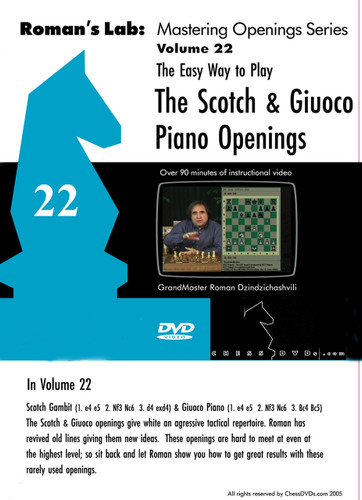 Roman's Lab 22: Play the Scotch Game and Giuoco Piano - Chess Opening Video Download