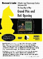 Roman's Lab 23: The Grand Prix and Reti Opening - Chess Opening Video DVD