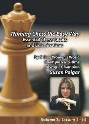 Susan Polgar, 3: Essential Chess Tactics and Combinations DVD