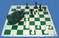 Basic Tournament Chess Set - Deluxe with FREE How to Play Chess DVD