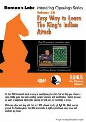 Roman's Lab 28: Learn the King's Indian Attack - Chess Opening Video DVD