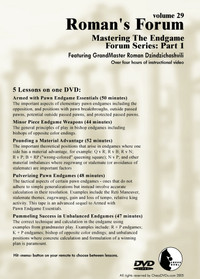 Roman's Forum:  30, Mastering the Endgame Part 2 DVD