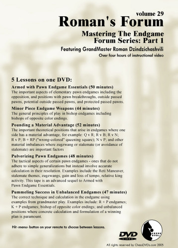 Roman's Forum:  30, Mastering the Endgame Part 2 DVD