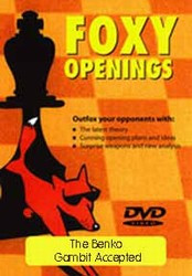 Foxy 12: The Benko Gambit Accepted - Chess Opening Video DVD