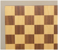 Walnut and Maple Chess Board 13""