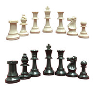 Chess Set:Triple Weighted Chess Pieces (2 Extra Queens), Chess Board and Zippered Chess Piece Bag