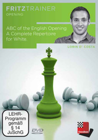 ABC of the English Opening: A Repertoire for White - Chess Opening Software on DVD