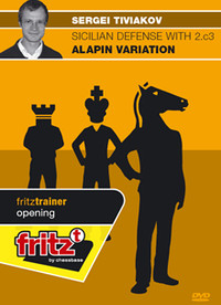 Sicilian Defense with 2.c3: The Alapin Variation - Chess Opening Software on DVD