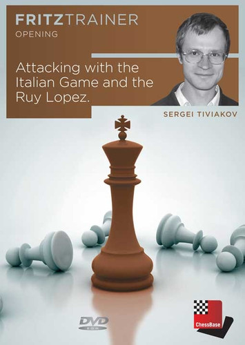 Attacking with the Italian Game and Ruy Lopez - Chess Opening Trainer on DVD