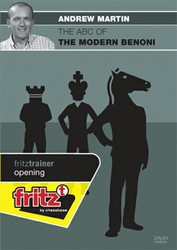 ABC of the Modern Benoni Defense - Chess Opening Software on DVD