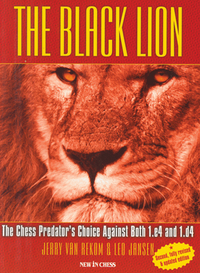 The Black Lion vs. 1.e4 and 1.d4 - Chess Opening Print Book