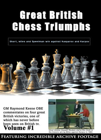Great British Chess Triumphs DVD