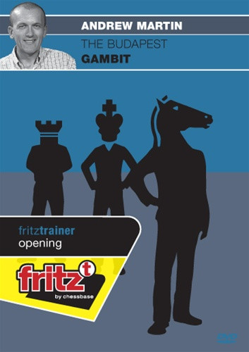 The Budapest Gambit - Chess Opening Software on DVD