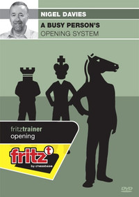 A Busy Person's Opening System - Chess Trainer Software on DVD