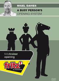 A Busy Person's Opening System - Chess Opening Software Download