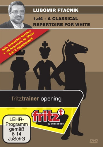 1.d4: A Classical Repertoire for White - Chess Opening Software on DVD