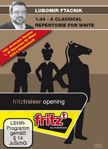 A Classical 1.d4 Repertoire for White - Chess Opening Software Download