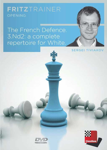 The French Defense, 3.Nd2: A Complete Repertoire for White - Chess Opening Trainer on DVD