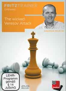 The Wicked Veresov Attack - Chess Opening Software Download