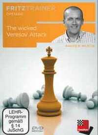 The Wicked Veresov Attack - Chess Opening Software on DVD