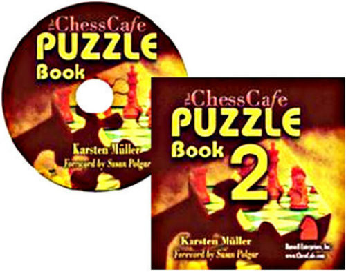 The ChessCafe Puzzle Book, Volume 1 and 2 CD