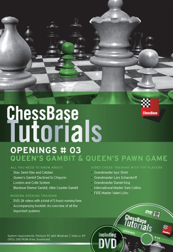 ChessBase Tutorials #03: Queen's Gambit & Queen's Pawn Game - Chess Opening Software on DVD