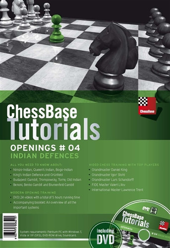 ChessBase Tutorials #04: Indian Defenses - Chess Opening Software on DVD