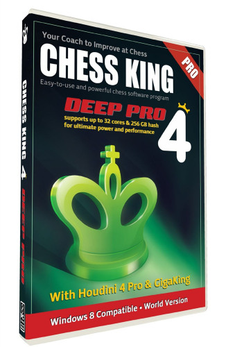 Chess King 4 Deep Pro - Training Software Download