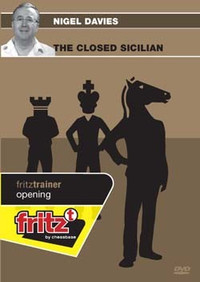 The Closed Sicilian - Chess Opening Software on DVD