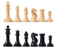 Conqueror Chess Pieces - Natural Color