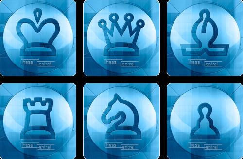 Chess Art Coasters - Set of 6