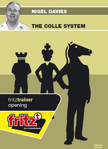 The Colle System - Chess Opening Software on DVD