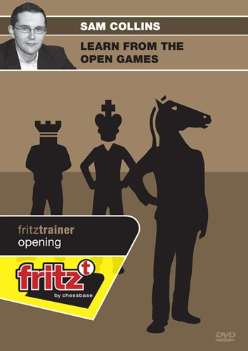 Learn from the Open Games - Chess Opening Software on DVD