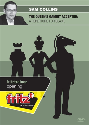 The Queen's Gambit Accepted: A Repertoire for Black - Chess Opening Software on DVD