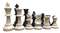 Chess Set: Tournament Chess Set with Triple Weighted Chess Pieces, Chess Board, Archer Quiver Tote Bag chess pieces