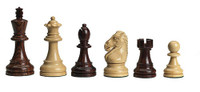 DGT e-Board with Royal Chess Pieces and Wenge Chess Board