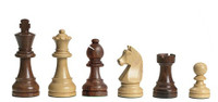 DGT e-Board with Timeless Chess Pieces and Wenge Chess Board