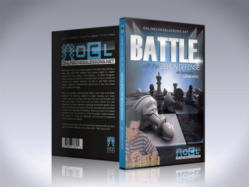 Empire Chess 10: Battle with the Berlin Defense - Chess Opening Video DVD