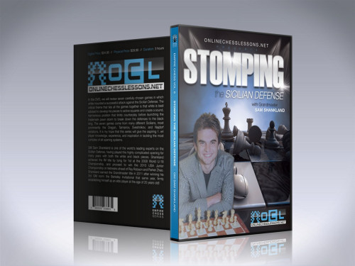 Empire Chess 6: Stomping the Sicilian Defense - Chess Opening Video DVD