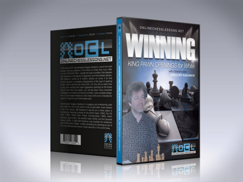 Empire Chess 7: Winning King Pawn Openings for White - Chess Opening Video DVD