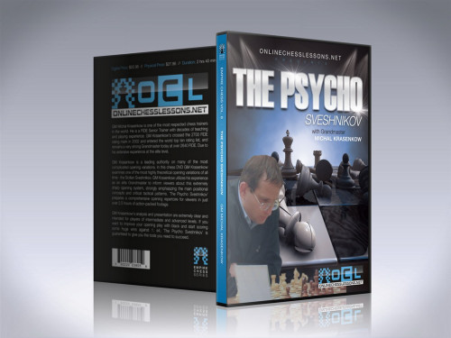 Empire Chess 8: The Psycho Sveshnikov Sicilian - Chess Opening Video DVD