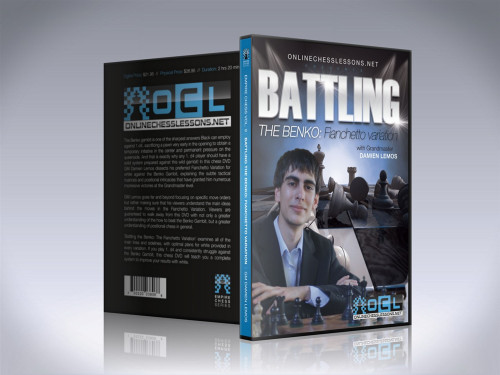 Battling the Benko: The Fianchetto Variation - Chess Opening Video DVD