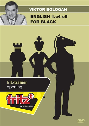 The English Opening for Black: 1.c4 c5 - Chess Training Software on DVD