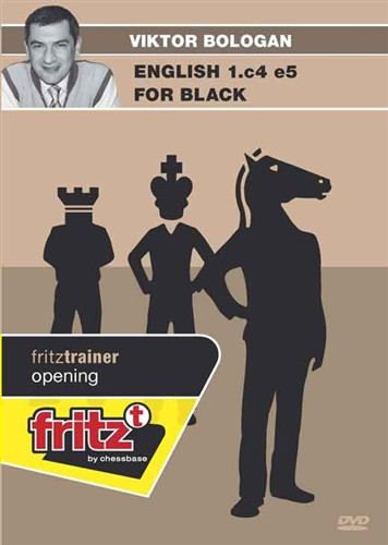 The English Opening for Black: 1.c4 e5 - Chess Training Software on DVD