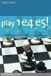 Play 1.e4 e5!: A Repertoire for Black - Chess Opening E-book Download