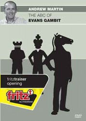 ABC of the Evans Gambit - Chess Opening Software on DVD
