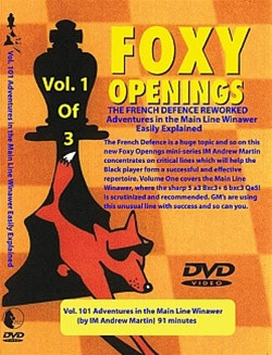 Foxy 101: The French Defense Reworked (Part 1) - Chess Opening Video DVD